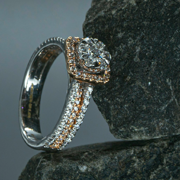 Square Trandy Shap Ring by