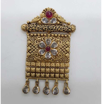 916 Antique Exclusive  Jadtar Pendant by