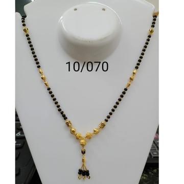 916 Gold Daliy Wear Dokiya Mangalsutra RH-MS09