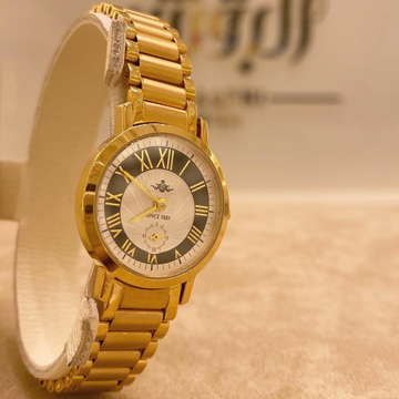 Men's Gold watch by
