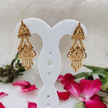 EARRINGS by Ghunghru Jewellers