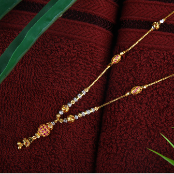 916 Gold Fancy Colorful Beads Dokiya JJ-N005
