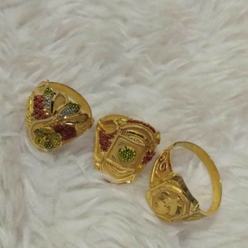 Gold ring Attractive Dijain by