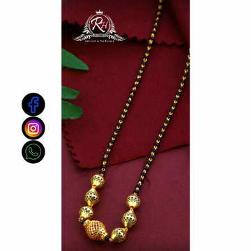 22 Carat Gold Traditional Mangalsutra RH-LM731