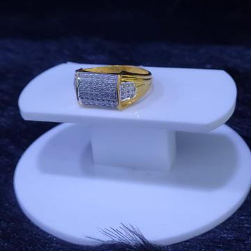 22KT/916 Yellow Gold Felix Ring For Men