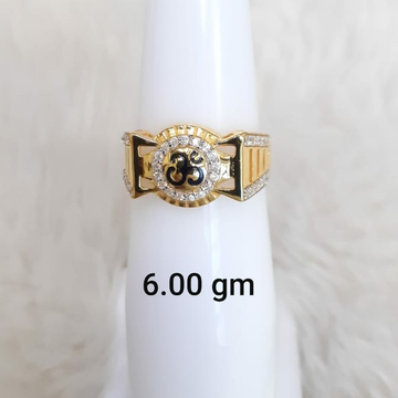 916 Fancy Customisable Om Gent's ring by