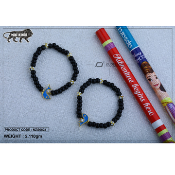 18 carat gold Kids nazariya elastic fish nzg0024