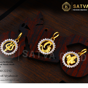 916 gold pendants SGP-0014