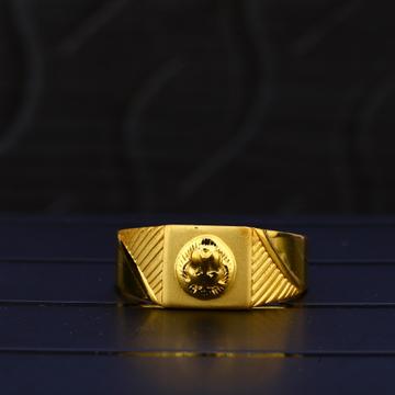 22kt Gold Hallmark Ring MPR69