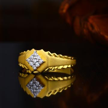 22KT Hallmark  Simple Gold Design Ring