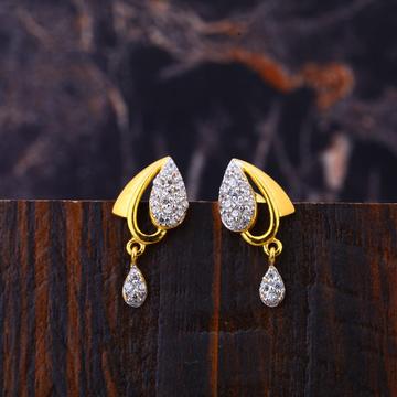 22KT Gold Women's Hallmark  Earring LFE314