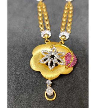 22k Ladies Fancy Gold Chain Set S-54143