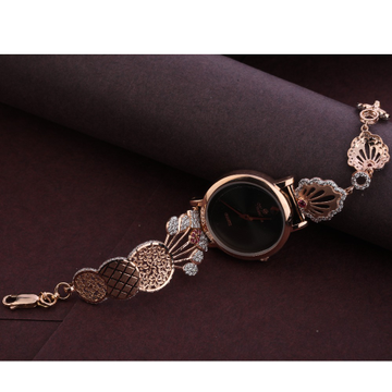 18KT Rose Gold CZ Hallmark Gorgeous Watch RLW304