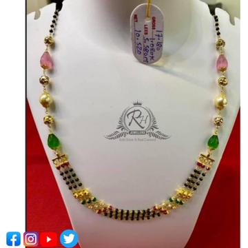 22 carat gold fancy ladies mangalsutra RH-MN558