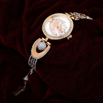 Rose Gold 18K Ladies Watch-RLW19