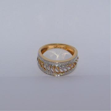 18k gold diamond ring agj-lr-282