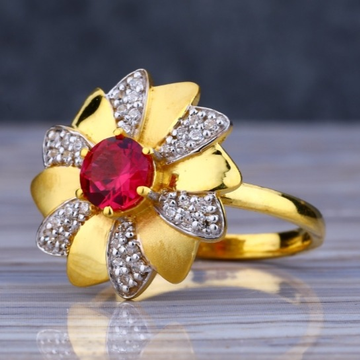 22 carat gold traditional ladies rings RH-LR434