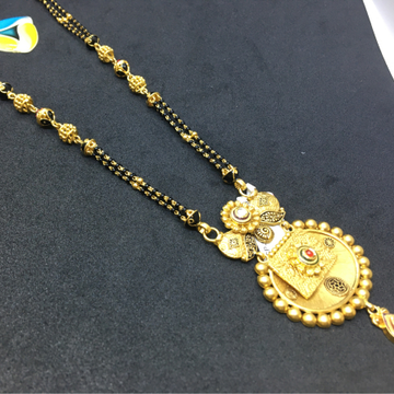 22kt antique fancy mangalsutra