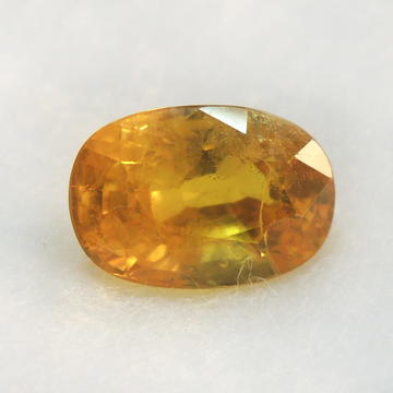 4.80ct (5.27 ratti) oval natural yellow-sapphire (pukhraj) KBG-S13