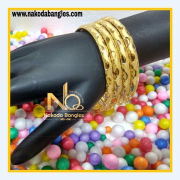 916 Gold Patra Bangles NB - 615