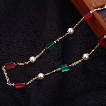 916 Gold Antique Designer Women's Chain Mala AC204