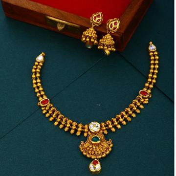 916 gold Antique  parity wear necklace set