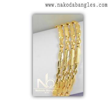 916 Gold Khilla Bangles NB - 1385