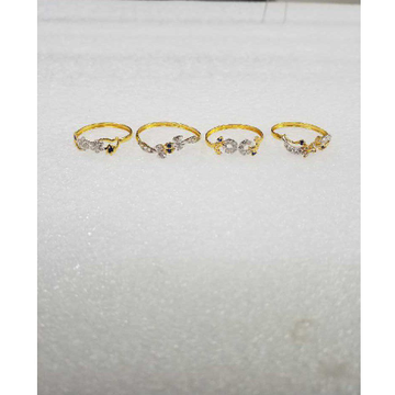 22KT Fancy Gold Ladies Rings