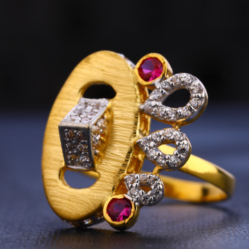 22KT Gold Classic Hallmark Women's Ring LR661