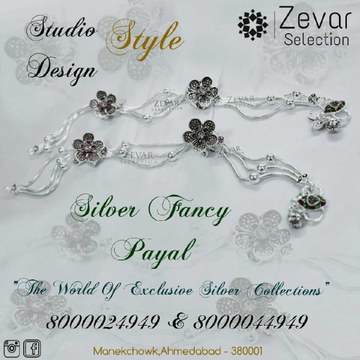 Silver Fancy Jul Payal