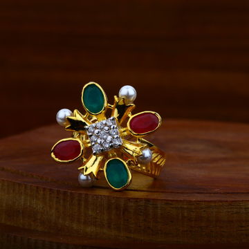 916 gold EXCLUSIVE antique Ring LAR41