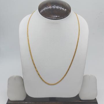 Gold stylish regular wear chain by