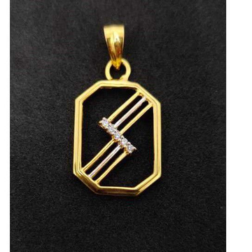 22k Gents Fancy Gold Pendant P-44538