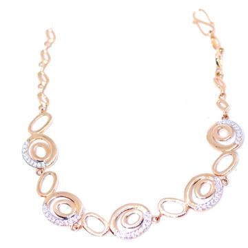 18KT rose gold festival Collection Fancy Bracelets... by