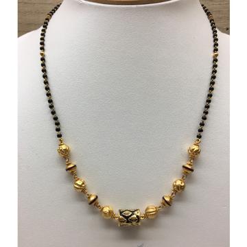 916 gold Antique light weight  Jewellery Mangalsutra Dokia