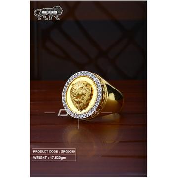 22 Carat 916 Gold Gants heavy ring grg0090 by