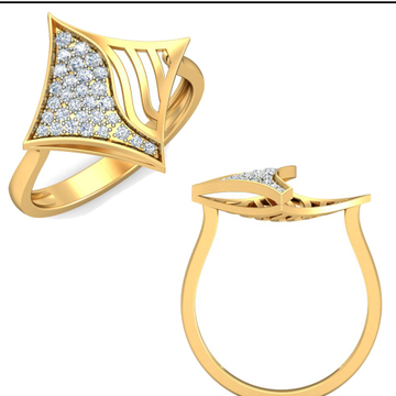 22Kt Yellow Gold Lavishi Floral Ring For Women