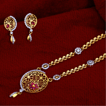 916 Gold  Ladies Classic     Chain Necklace CN43