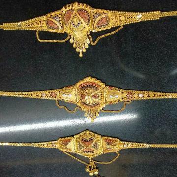 Gold Colourfull Lockit Dijain by