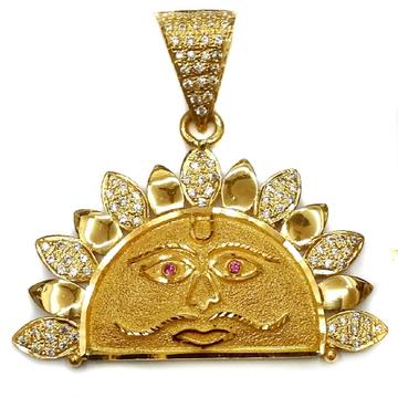 22k Gold Surya Pendant MGA - GP004