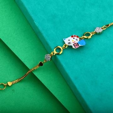916 Gold Bracelet-KB12