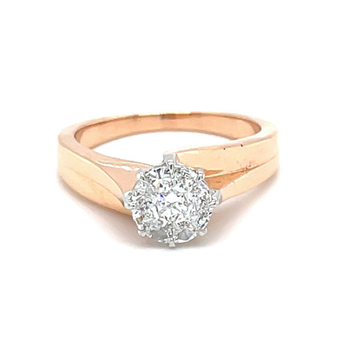 Classic Solitaire Ring for Gents - 0GR27