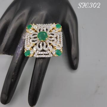 CZ ring#677