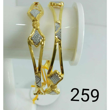 22kt Gold Ladies Fancy Copper Kadli (Gabha Kadli)