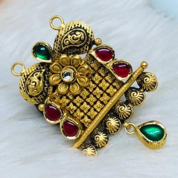 916 Gold Jadtar Mangalsutra Pendants msp-0015