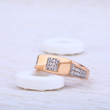 750 Rose Gold Cz Ring RMR35