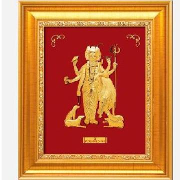 24 k gold god dattaguru photo frame rj-pga35