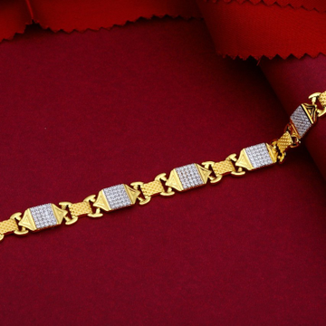22KT Gold Classy And Timeless Bracelet For Men