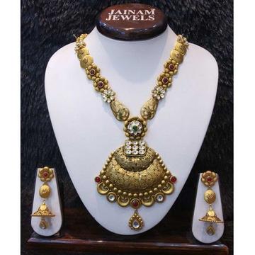 22kt gold bridal antique set by