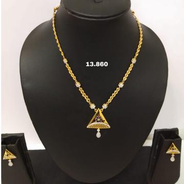 18 carat chain set